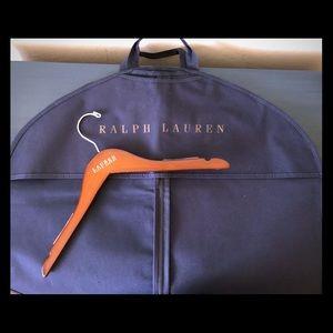 Ralph Lauren Garment Bag and Hanger